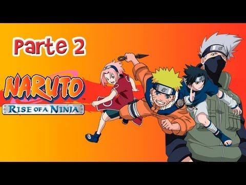 Detonado - Naruto Rise of a Ninja - Parte 02 (Ajudando Teuchi e Konohamaru)