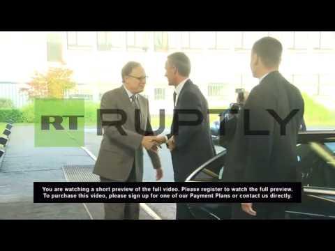 Belgium: Norway's Stoltenberg takes the reins of NATO