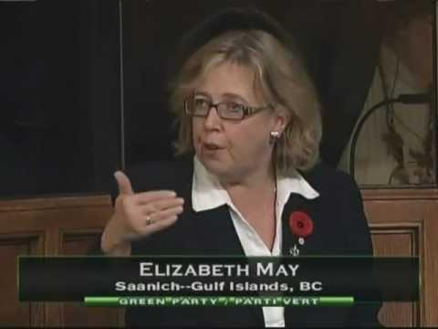 Elizabeth May: Fair Representation Act