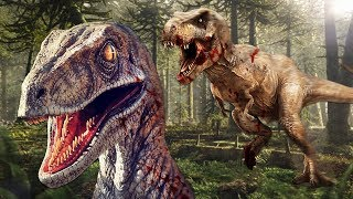 PLAY AS A RAPTOR & TRY TO SURVIVE!! (Saurian)