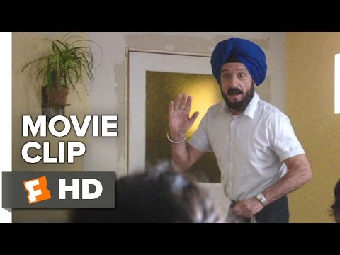 Learning to Drive Movie CLIP - Jasleen's New Friends (2015) - Ben Kingsly, Sarita Choudhury Movie HD