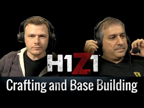 H1Z1 Livestream 10/2/14 - Crafting And Base Building [Official Video]