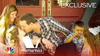 Download Lagu The Voice 2018 - Dallas Caroline and Kaleb Lee (#UseYourVoice) Gratis STAFABAND