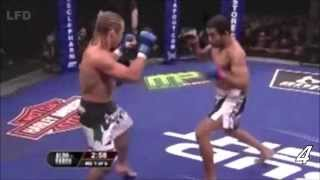 José Aldo Vs. Urijah Faber - Leg kicks from hell