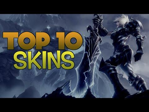 TOP 10 MEJORES SKINS League of Legends Según Jacky