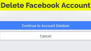 How to Delete Facebook Account in jio phone-2020