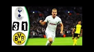 Tottenham 3-1 BVB Dortmund | UEFA Champions League | All goals amp highlights