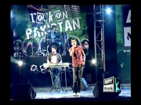 Lagan - Main Yaad Aaonga (Live  Rock On Pakistan) 13.08.2009...