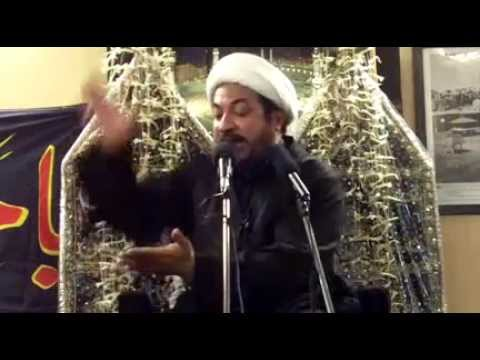 5 - Majlis-urdu Moharram-1436h 2014- Maulana Mirza Jafar Abbas - Mehfil - E- Shah Khorasan Mumbai video