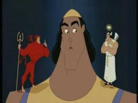kronks mission add to ej playlist kronk goes to throw out kuzco but he ...