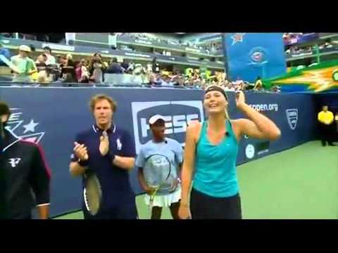 Performance Challenge Maria Sharapova Andy Roddick Serena Williams Roger Federer part 1