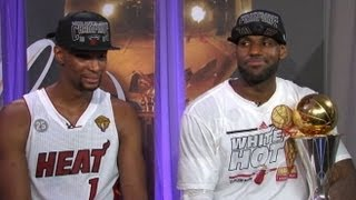 LeBron James Interview 2013: Star Doesn't Regret Multiple Championships Talk After NBA Finals 2013