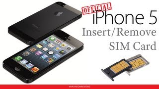 iPhone 5 How To_ Insert / Remove a SIM Card