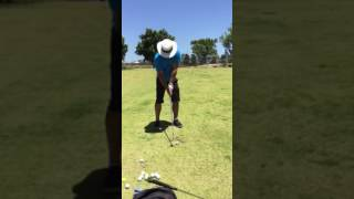 Andy Gott 7 iron face on 17-1-17