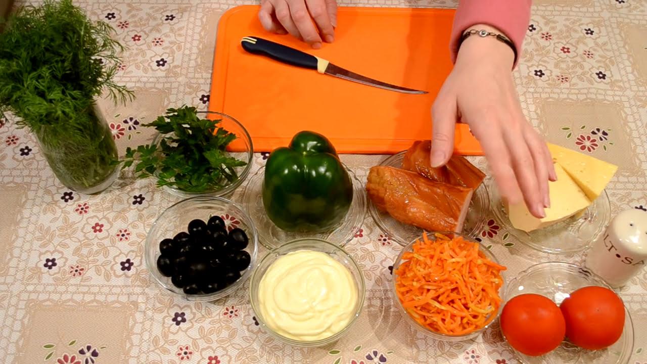 Салаты с фасолью рецепты с на праздничный стол рецепты