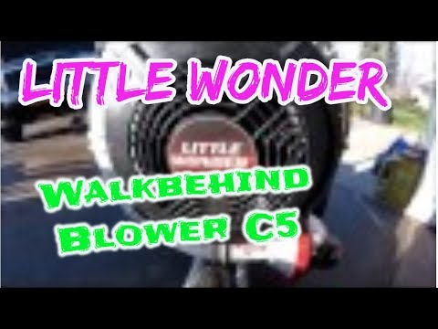 Little Wonder Blower Review and story