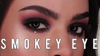 Como aplicar sombras para principiantes | Como hacer un smokey eye negro | Sophia Morillo