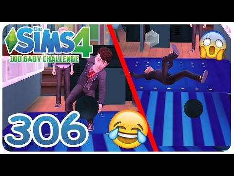 DIE SIMS 4: 100 BABY CHALLENGE #306 BOWLING FAILS! :D ☆ Let's Play