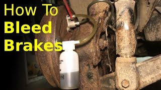 BEST ways to bleed brakes (one person VS. two person method)