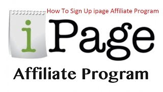 How to create a IPage Affiliate Account Bangla Tutorial 2017
