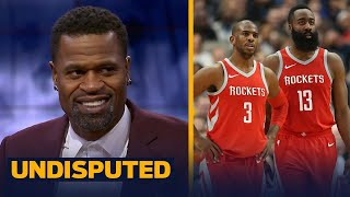 Stephen Jackson explains what the Houston Rockets need to compete in the postseason | UNDISPUTED