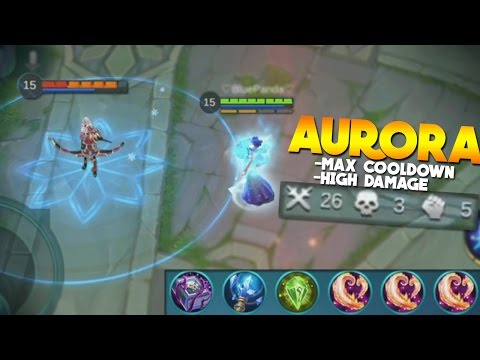 Mobile Legends Aurora Damage + Cooldown Build (Sick Gameplay)