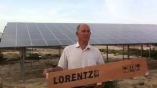 Instalación Techno Riego Solar. Explicación por el Ingeniero Eduardo Sandoval