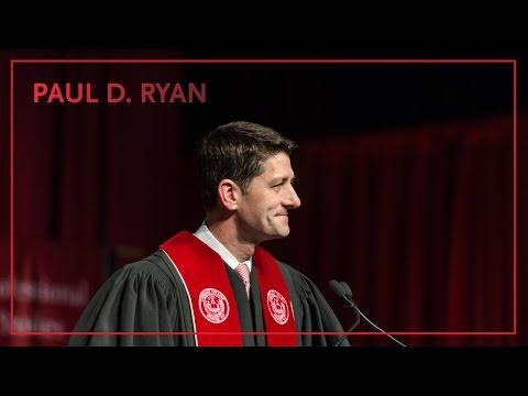 Paul Ryan Carthage College Commencement Address 2016