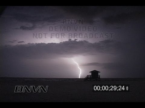 8/8/2006 Sarasota, FL Lightning Video