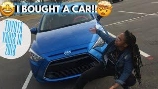 I BOUGHT A CAR! 🚙 | Car Tour ..kinda (2018 Toyota Yaris iA)