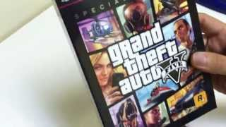 Unboxing GTA V Grand Theft Auto V Special Edition PS3 XBOX360