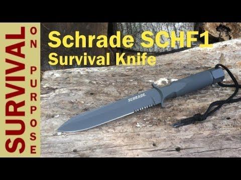 Schrade Knives SCHF1 - Best Survival Knife Under $100 ?