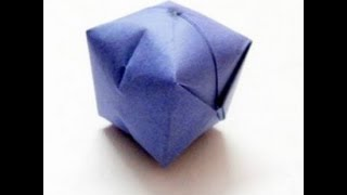 Origami Paper Ball - Water Bomb Easy Steps