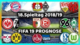 18.Spieltag - Alle Highlights und Tore - Bundesliga Prognose I FIFA 19 I 2018/19 Deutsch (HD)