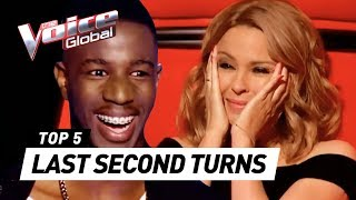 LUCKIEST MOMENTS in The Voice ever!