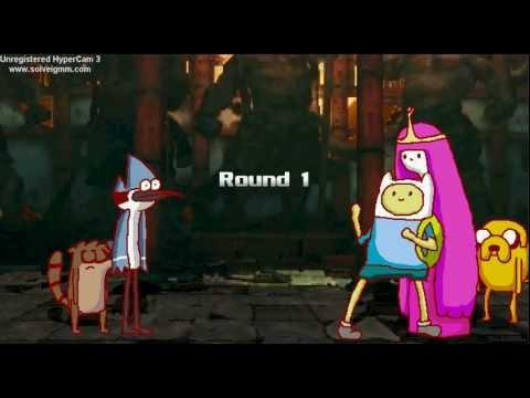 Finn Jake vs Mordecai Rigby ▶ Mordecai Rigby vs Finn