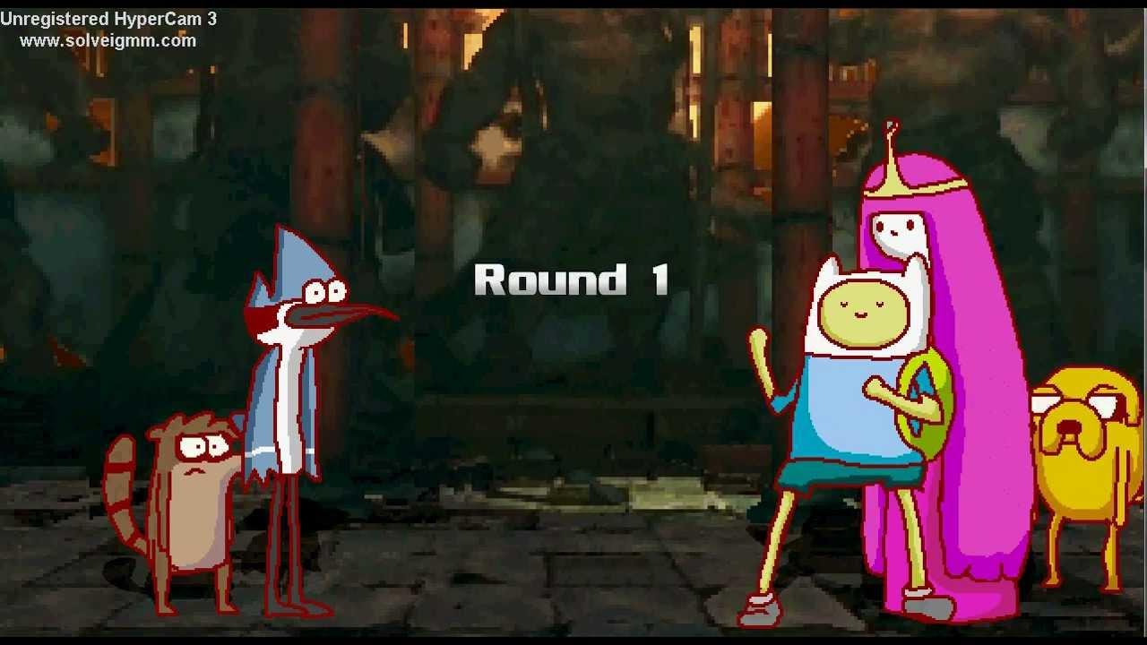 Finn Jake vs Mordecai Rigby Mordecai Rigby vs Finn