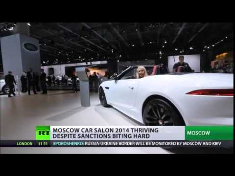 SANCTIONS Are Of No CONCERN at GLITTERING 2014 Moscow Car SHOW
