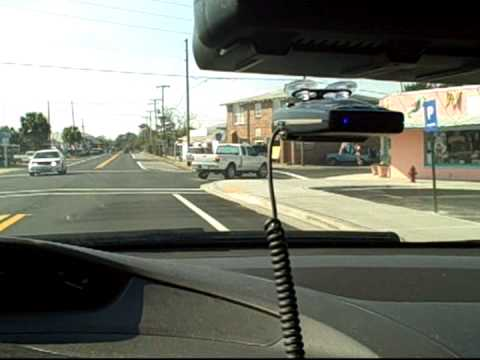 Escort Passport 9500 ix  Radar/Laser Detector Demo