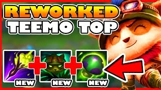 REWORKED TEEMO DOES EVEN MORE DAMAGE!? HE'S EVEN BETTER AT 1v1ing! - League of Legends