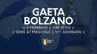 Serie A1M [17^]: Gaeta - Bolzano 19-21