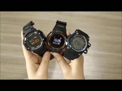 NO.1 F7 Rugged Smartwatch Compared NO.1 F6, F2, Which one you would like?