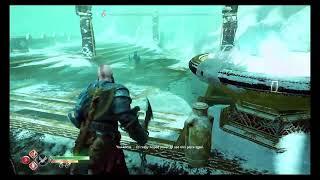 God of war gameplay boss fight