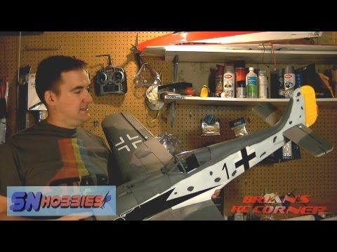 SN Hobbies - Top R/C Hobby FW-190 Fock-Wulfe: What's in the Box