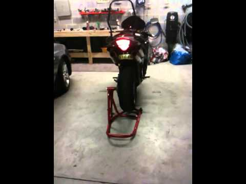 My modified Honda VFR800 vtec walk around