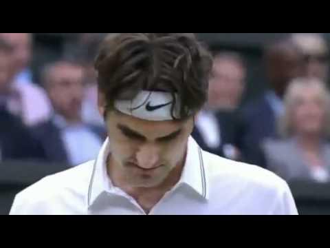 Highlights Roger Federer Wins Wimbledon 2012 Semi Finals Match point