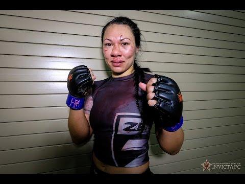 Invicta FC 9: Raquel Pa'aluhi Post Fight Interview