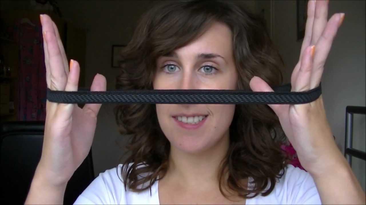 kort haar opsteken met haarband