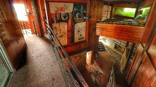 ABANDONED MILLIONAIRE MANSION *1960'S MOUNTAIN RETREAT*