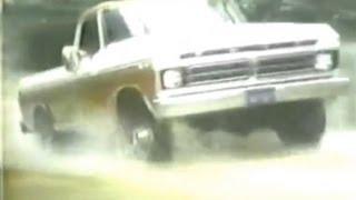 Ford 76 V-8 Pickup Truck Commercial (1975)
